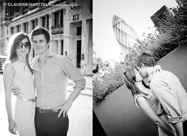 Andaz Weddings. Liverpool Street weddings. Engagement shoot.